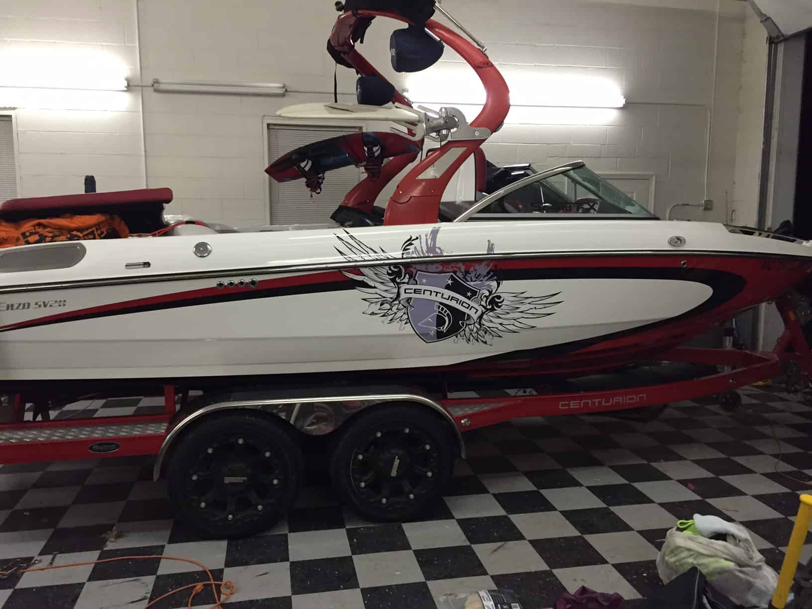 Centurion Boat Detailing Products